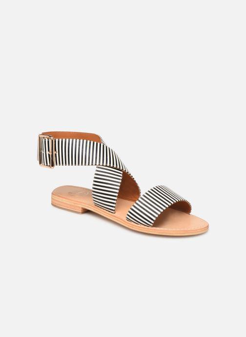 Sandalen Made by SARENZA Pastel Affair Plagettes #2 schwarz ansicht von rechts