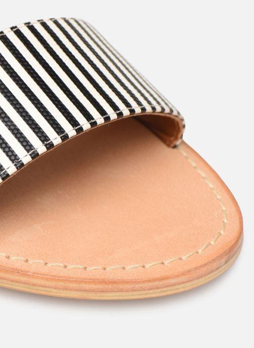 Sandalen Made by SARENZA Pastel Affair Plagettes #2 schwarz ansicht von links