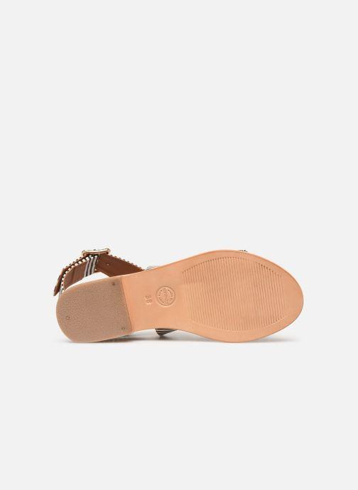 Sandalen Made by SARENZA Pastel Affair Plagettes #2 schwarz ansicht von oben