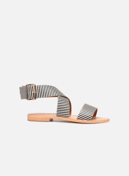 Sandalen Made by SARENZA Pastel Affair Plagettes #2 schwarz detaillierte ansicht/modell