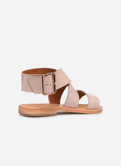 Sandales et nu-pieds Made by SARENZA Pastel Affair Plagettes #2 Rose vue face
