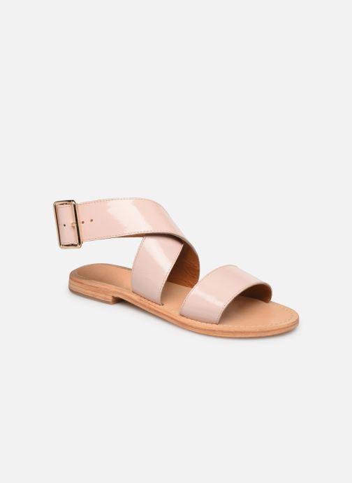 Sandalias Made by SARENZA Pastel Affair Plagettes #2 Rosa vista lateral derecha