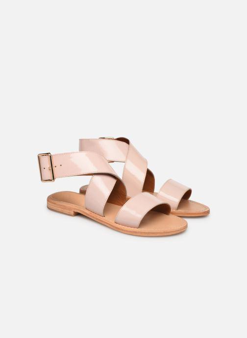 Sandales et nu-pieds Made by SARENZA Pastel Affair Plagettes #2 Rose vue derrière