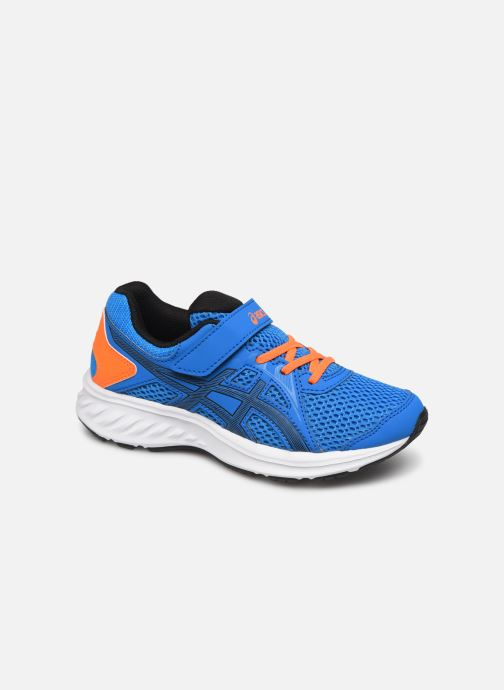 Sport shoes Asics Jolt 2 PS Blue detailed view/ Pair view