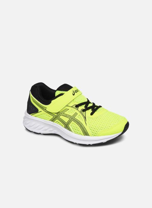Chaussures de sport Asics Jolt 2 PS Jaune vue détail/paire