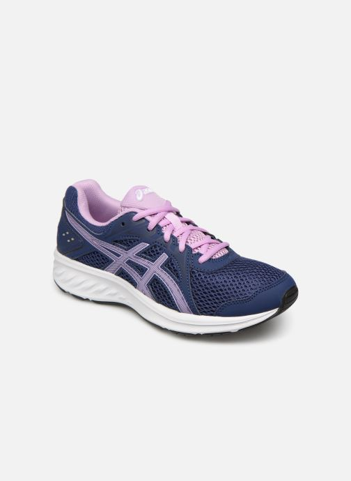 Chaussures de sport Asics Jolt 2 GS Violet vue détail/paire
