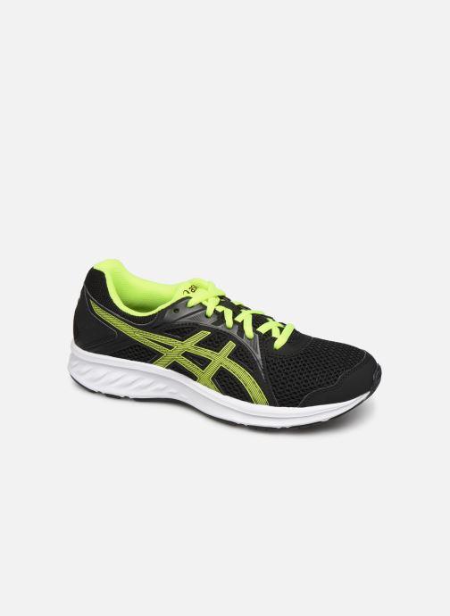 Sport shoes Asics Jolt 2 GS Black detailed view/ Pair view