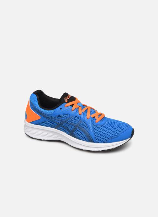 Sport shoes Asics Jolt 2 GS Blue detailed view/ Pair view