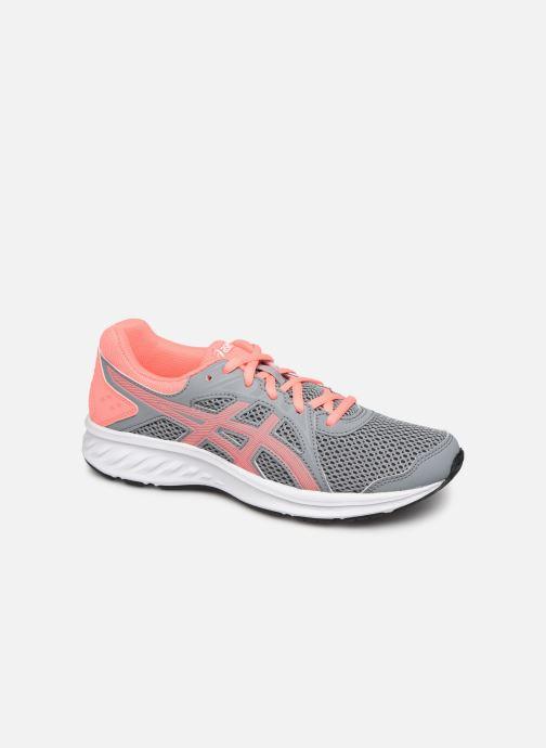 Sport shoes Asics Jolt 2 GS Grey detailed view/ Pair view