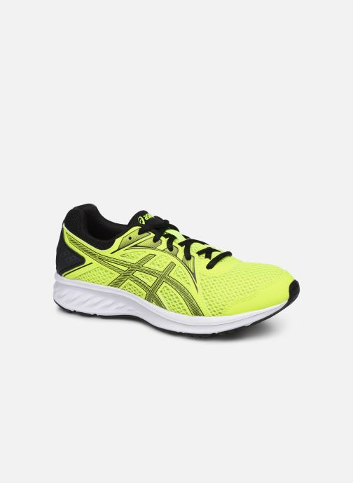 Chaussures de sport Asics Jolt 2 GS Jaune vue détail/paire