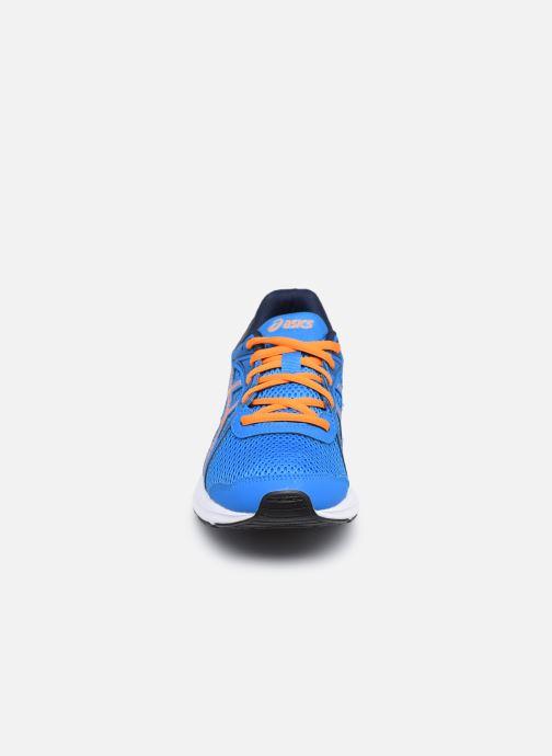 Sportschuhe Asics Jolt 2 GS blau schuhe getragen