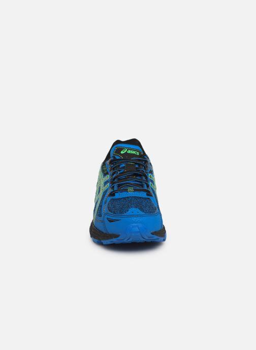 Chaussures de sport Asics Venture 6 GS Bleu vue portées chaussures