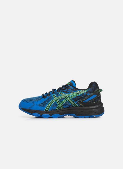 Chaussures de sport Asics Venture 6 GS Bleu vue face