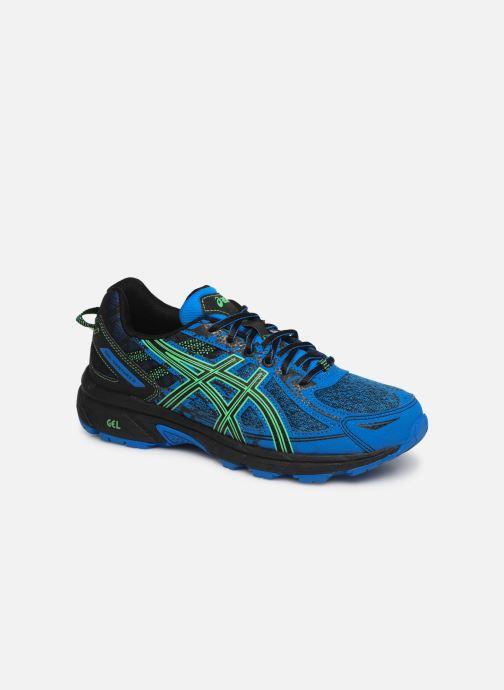 Chaussures de sport Asics Venture 6 GS Bleu vue détail/paire