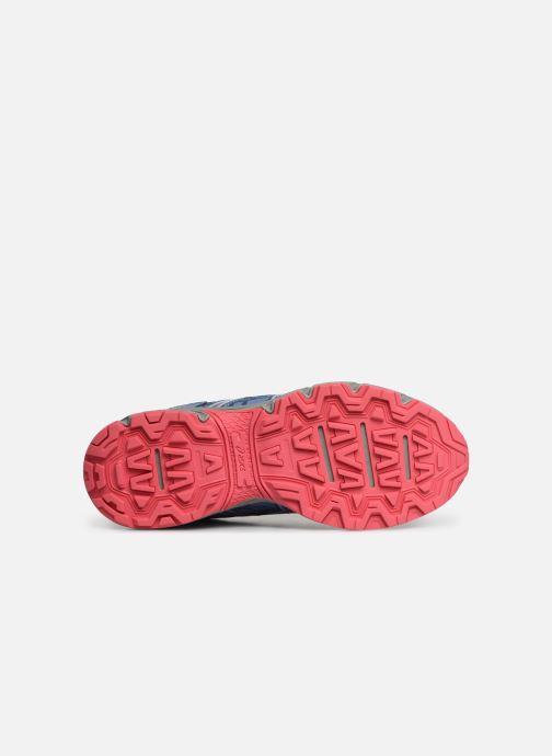 Chaussures de sport Asics Venture 6 GS Gris vue haut