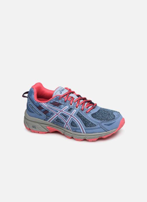 Chaussures de sport Asics Venture 6 GS Gris vue détail/paire
