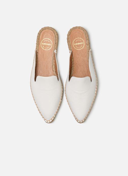 Espadrilles Made by SARENZA Pastel Affaire Espadrille #1 Blanc vue portées chaussures