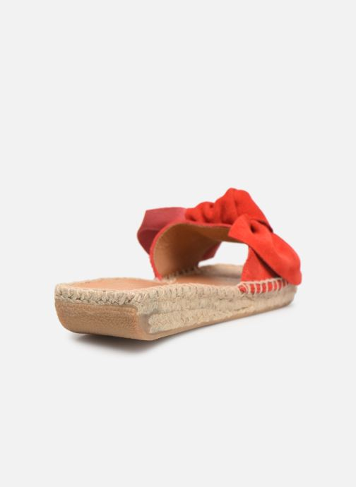 Espadrilles Made by SARENZA Urbanfrican Espadrille #1 Rouge vue face