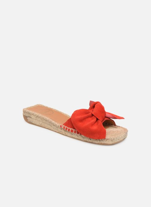 Espadrilles Made by SARENZA Urbanfrican Espadrille #1 Rouge vue droite