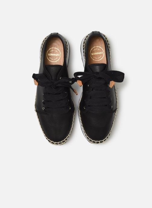 Trainers Made by SARENZA Urbanfrican basket #2 Black model view