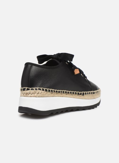 Trainers Made by SARENZA Urbanfrican basket #2 Black front view