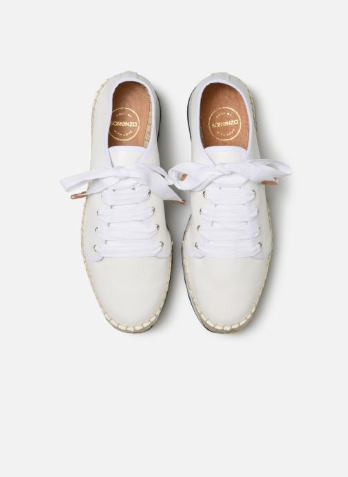 Baskets Made by SARENZA Urbanfrican basket #2 Blanc vue portées chaussures