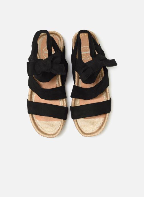 Espadrilles Made by SARENZA Urbafrican Espadrille #2 schwarz schuhe getragen