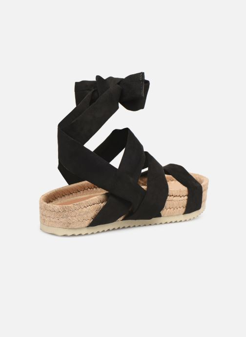 Espadrilles Made by SARENZA Urbafrican Espadrille #2 Black front view