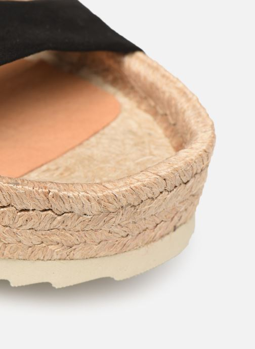 Espadrilles Made by SARENZA Urbafrican Espadrille #2 Black view from the left