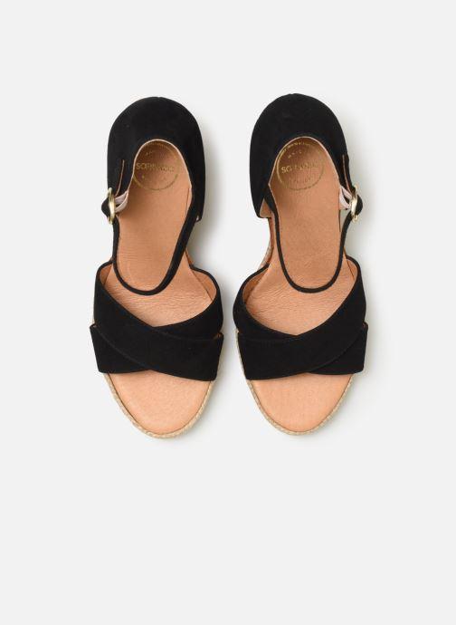 Espadrilles Made by SARENZA Urbafrican Espadrille #4 Noir vue portées chaussures