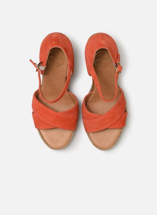 Scarpe di corda Made by SARENZA Urbafrican Espadrille #4 Arancione modello indossato