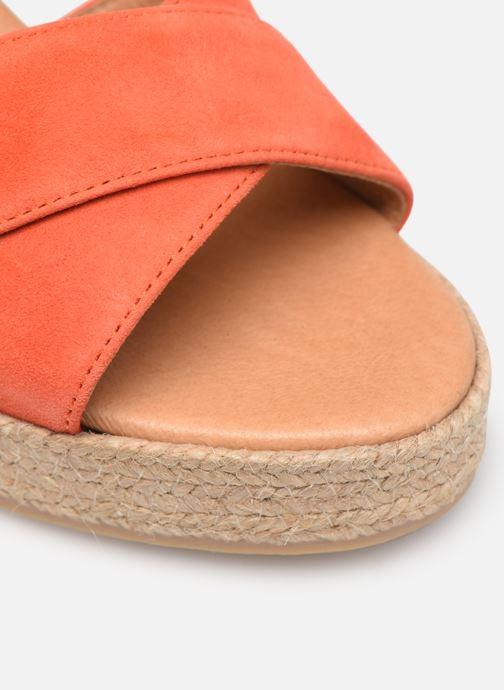 Espadrilles Made by SARENZA Urbafrican Espadrille #4 orange ansicht von links