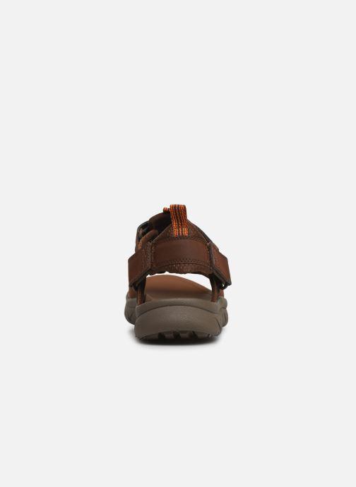 Sandales et nu-pieds Caterpillar Sigent Marron vue droite
