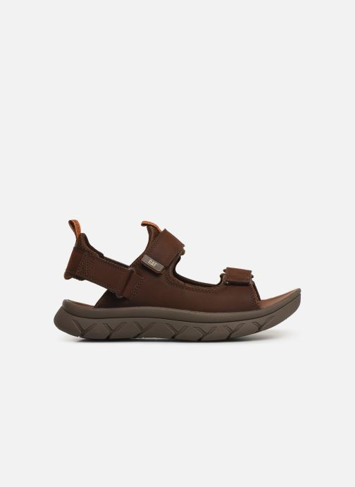 Sandales et nu-pieds Caterpillar Sigent Marron vue derrière