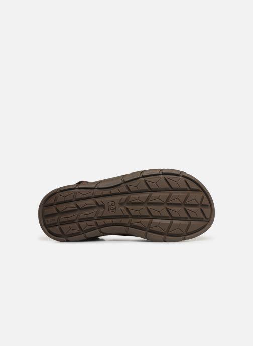 Sandales et nu-pieds Caterpillar Sigent Marron vue haut