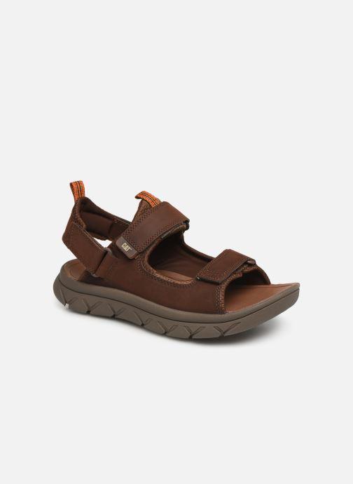 Sandales et nu-pieds Caterpillar Sigent Marron vue détail/paire