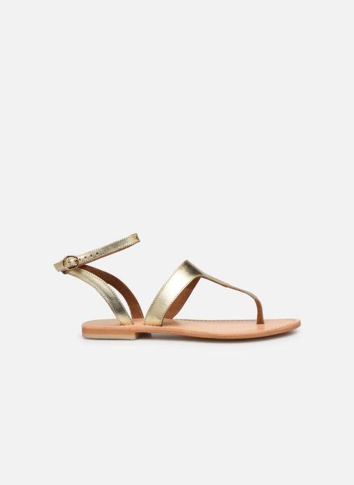 Sandales et nu-pieds Georgia Rose Balbina Or et bronze vue derrière