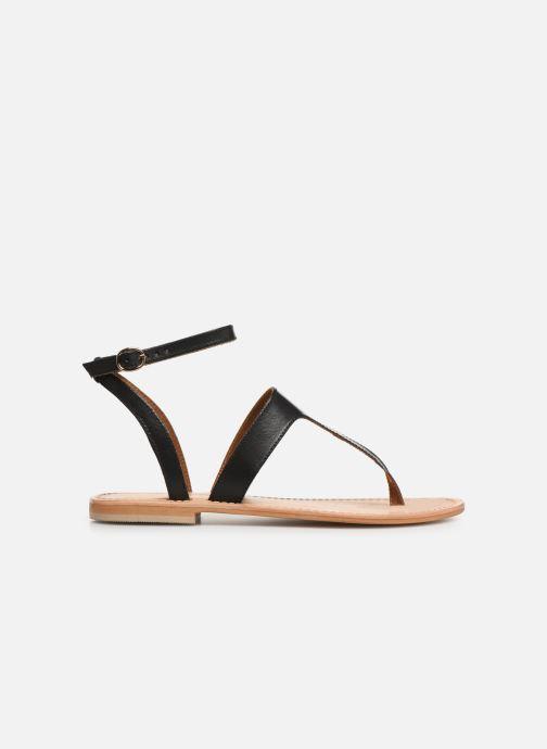 Sandales et nu-pieds Georgia Rose Balbina Noir vue derrière