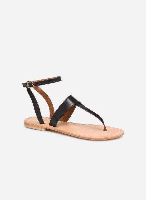 Sandales et nu-pieds Georgia Rose Balbina Noir vue détail/paire