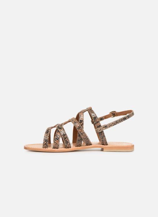 Sandales et nu-pieds Georgia Rose Benilda Marron vue face