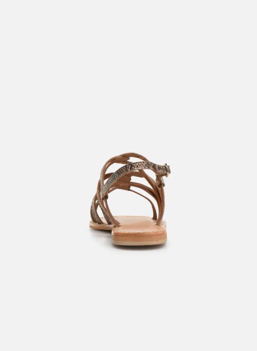 Sandales et nu-pieds Georgia Rose Benilda Marron vue droite