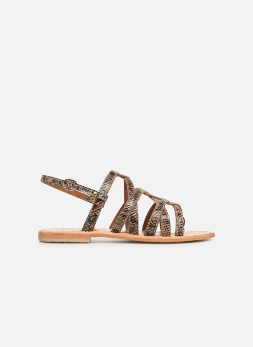 Sandales et nu-pieds Georgia Rose Benilda Marron vue derrière
