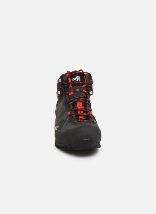 Chaussures de sport Millet Super Trident GTX 2 Gris vue portées chaussures