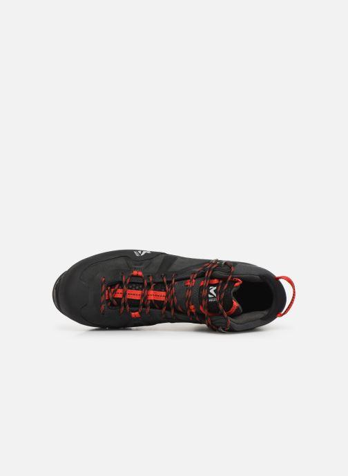 Zapatillas de deporte Millet Super Trident GTX 2 Gris vista lateral izquierda