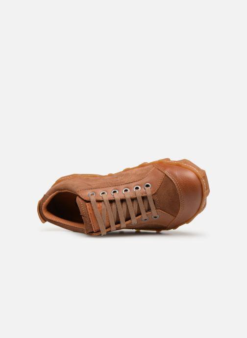 Sneaker Art Melbourne 783 braun ansicht von links