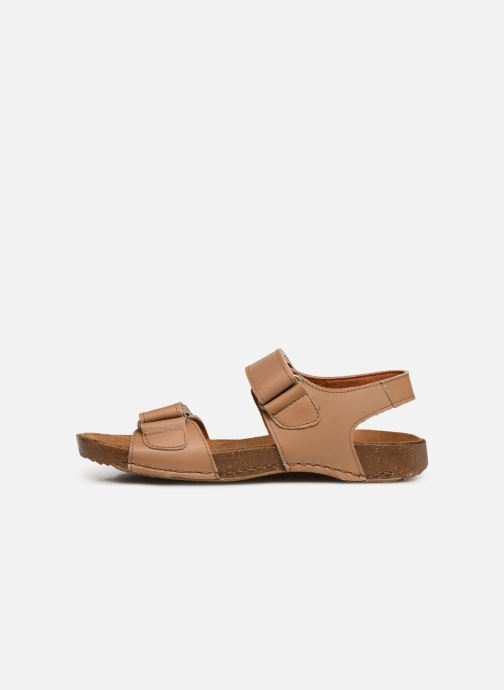 Sandali e scarpe aperte Art I Breathe 1004 Beige immagine frontale