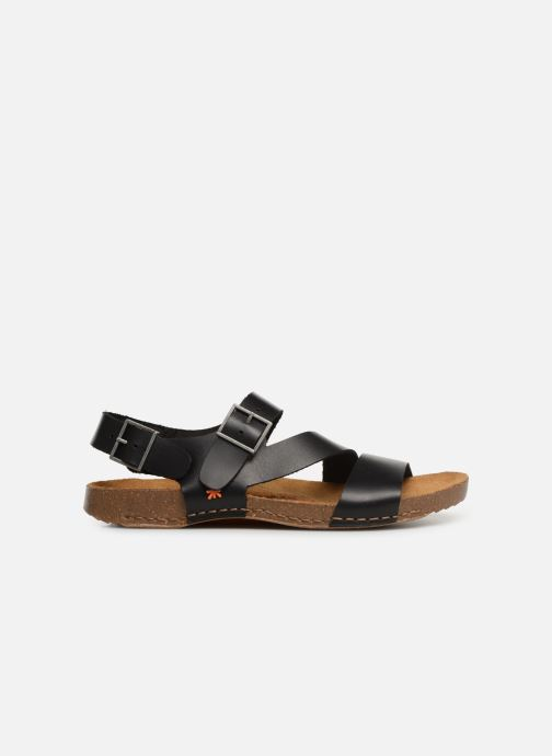 Sandales et nu-pieds Art I Breathe 1049 Noir vue derrière