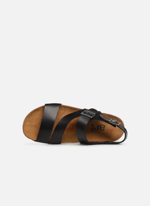 Sandales et nu-pieds Art I Breathe 1049 Noir vue gauche