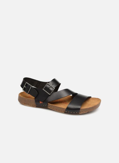 Sandales et nu-pieds Art I Breathe 1049 Noir vue détail/paire