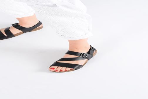 Sandals Art I Breathe 1049 Blue view from underneath / model view